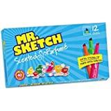 Amazon.com: Mr. Sketch 1905069 Scented Markers, Chisel Tip