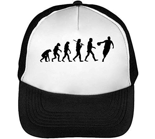 Evolution Snapback Hombre Blanco Beisbol Negro Gorras Basketball qqZwfxvCA