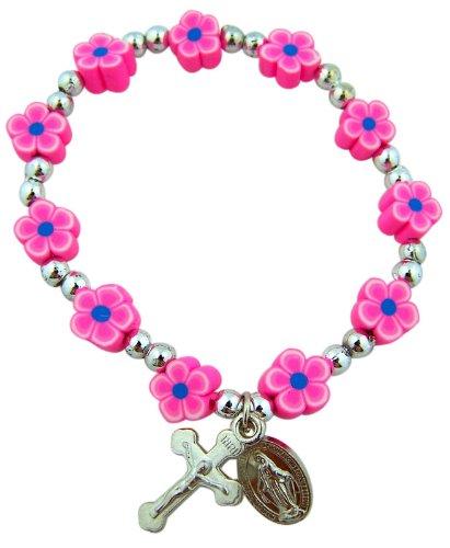Flower Prayer Rosary Miraculous Bracelet product image