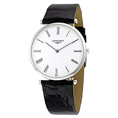 Longines L47554112 La Grande Mens Watch - White Dial