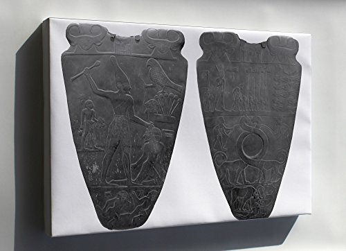 Canvas 16x24; Narmer Palette Depicts The Unification Of The Two Lands. Ancient Egypt