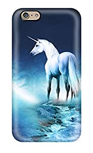New HWMEAoP10685rpETQ Unicorn Horse Magical Animal Moon Tpu Cover Case For Iphone 6
