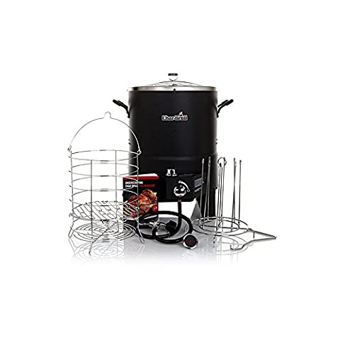 Char-Broil The Big Easy TRU-Infrared Oil-Less Turkey Fryer Bundle with 2 Leg Racks and Kabob Set (Char Broil Leg)