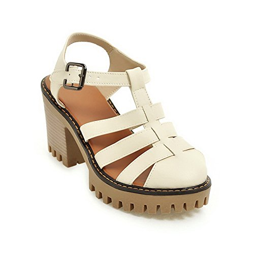 Structured Sandals MJS03143 Urethane Sandals Beige Non Marking Womens 1TO9 RnYqgEAwE
