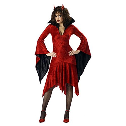 She Devils Costumes (Premier She Devil Costume Size: Women's Large 12-14)