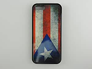 Iphone 5, Iphone 5s Puerto Rican Puerto Rico Flag, Rustic Case. Free Screen Protector!