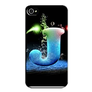 J From Jotta Black J From Jotta Case Cover For Iphone 4/4s