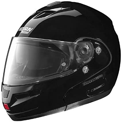 a09d4a3f Amazon.com: Nolan N103 N-Com Solid Modular Helmet X-Small | Black:  Automotive