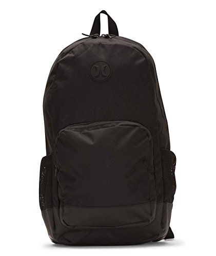 - Hurley Men's Renegade Solid Laptop Backpack, black, QTY