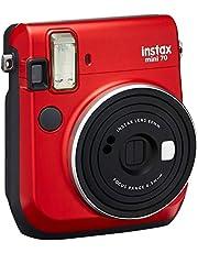 Fujifilm Instax Mini 70 + 1 Assorted Film + Accessories, Red