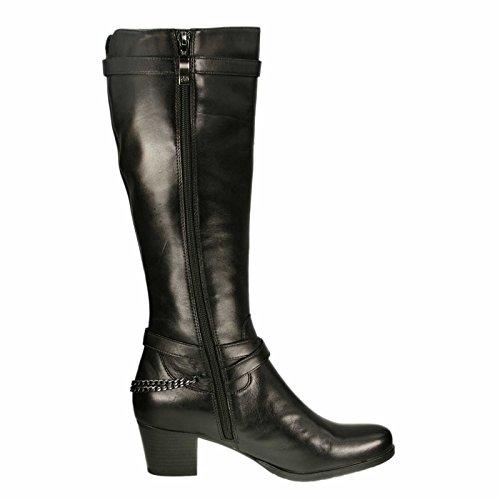 Gerry Weber Damen Stiefel Belinda 04 G81004 90MI, schwarz 100, EU (37)