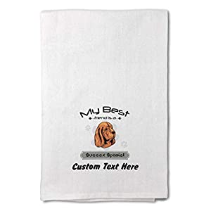 Style In Print Custom Decor Flour Kitchen Towels My Best Friend is Sussex Spaniel Dog Pets Dogs Cleaning Supplies Dish Towels Design Only 38