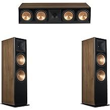 Klipsch 3.0 Walnut System with 2 RF-7 III Floorstanding Speakers, 1 RC-64 III Center Speaker