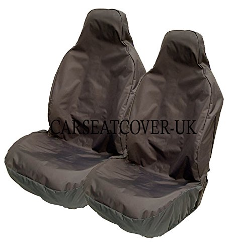 Carseatcover-UK BLKWPFP1000 Car Seat Covers, Heavy Duty, Waterproof, Black