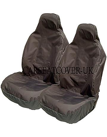 PEUGEOT BIPPER WATERPROOF HEAVY DUTY SINGLE//SINGLE FRONT SEAT COVERS BLACK 303