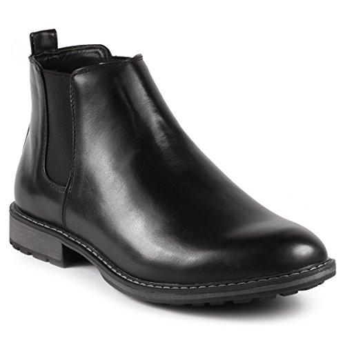 Chelsea Beatle Boots (Metrocharm MC137 Men's Formal Dress Chelsea Ankle Boot (10.5 D(M) US,)