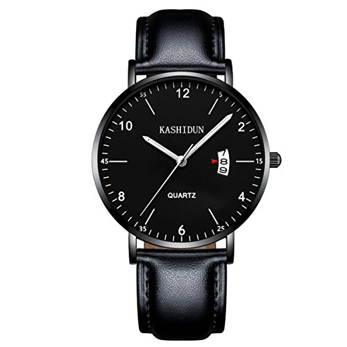 KASHIDUN Men's Watches & Women's Watch Luxury Quartz Wristwatches Small Dial Waterproof Calendar Date 999