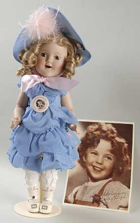 Danbury Mint Shirley Temple Southern Belle Porcelain Doll ()