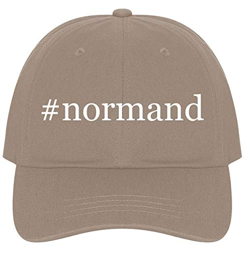The Town Butler #Normand - A Nice Comfortable Adjustable Hashtag Dad Hat Cap, Khaki