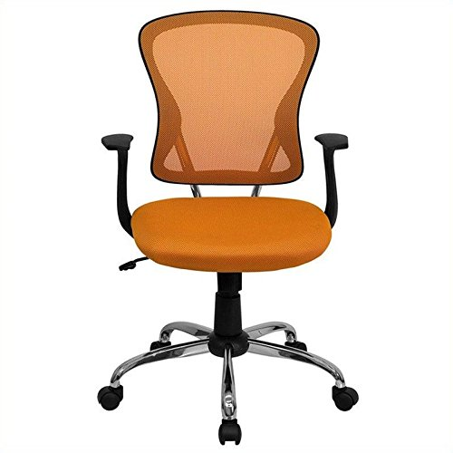 flash-furniture-h-8369f-org-gg-mid-back-orange-mesh-office-chair-with-chrome-finished-base