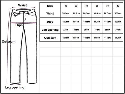 Look Giovane Fashion Strappati 2018 Uomo Saoye Strappato Design Nero Moderno Jeans Distrutti Denim Jeans Vintage zIpZRxqwB