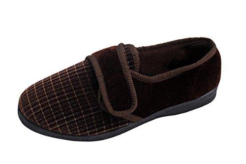 Mens Year All Shoes Soft Textile Wear Use Shoes Look Plain Brown Mule Super rra840P