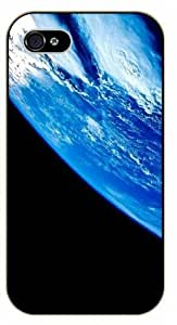 iPhone 5C Earth aerial view - black plastic case / Plane, aircraft, airplane