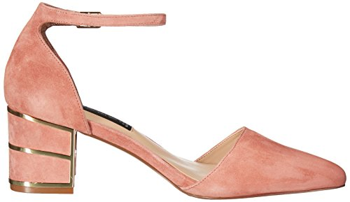 Pump Pink by Women's Suede STEVEN Madden D'Orsay BEA Steve UvBq00Ygca