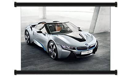 Amazon Com Bmw I8 Concept Fabric Wall Scroll Poster 32 X 24