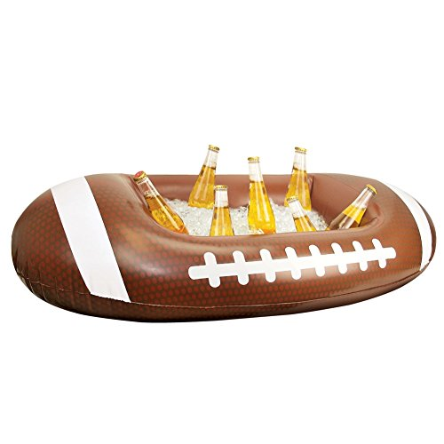 Inflatable Football-Shaped Cooler