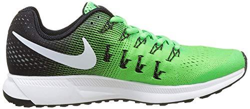 Zoom 33 Pegasus White Chaussures Running Air Green De rage Verde Nike black Entrainement Homme 6C5nqFwwx