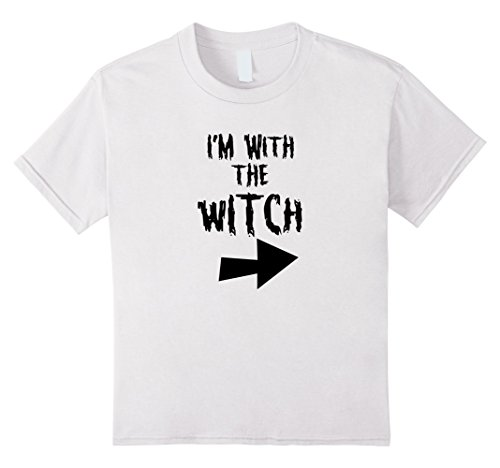 The White Witch Costume Ideas (Kids Halloween Witch Shirt   Funny Costume T Shirt Gift Idea 12 White)