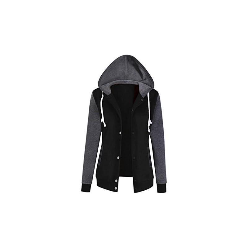 Jushye Women's Hoodies Jacket Coat, Ladi