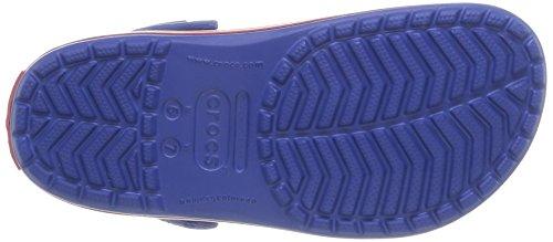 Crocs Crocband Clog Zuecos con Correa, Unisex Adulto Azul (Cerulean Blue/Pepper)