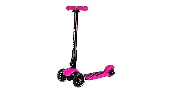 Amazon.com: Patinete de 3 ruedas para niñas y niños con ...