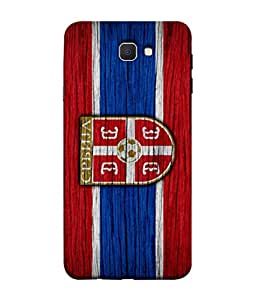 ColorKing Football Serbia 09 Multi Color shell case cover for Samsung On7 Prime