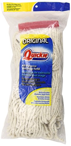 Cotton Wet Mop Refill (Quickie All Purpose Cotton Wet Mop Refill (Pack of 3))