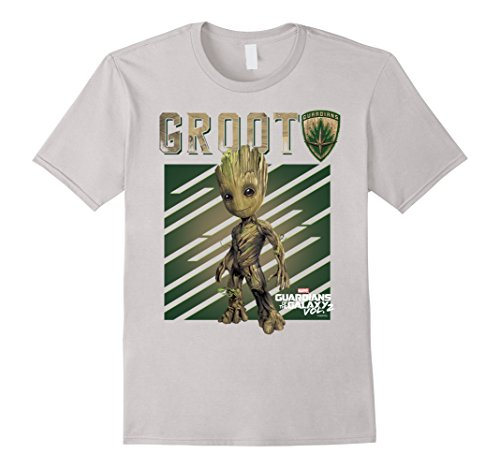 Marvel Guardians Vol. 2 Baby Groot Shield Graphic T-Shirt