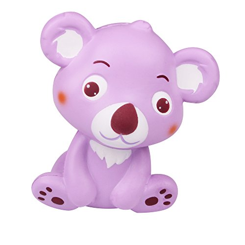 LaooDa 5.3'' New Year Jumbo Squishy Koala Cartoon Tree Bear Animal Soft Slow Rising Cream Scented Squeeze Hand Pillow Kid Gift Toy Home Office Decor (Purple)