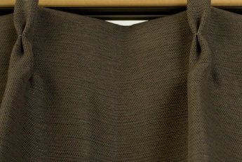 ブリーズ 1級遮光防炎遮熱カーテン 2枚入 巾150cmX丈135cm ブラウン B00B16Z16A 150X135|ブラウン ブラウン 150X135
