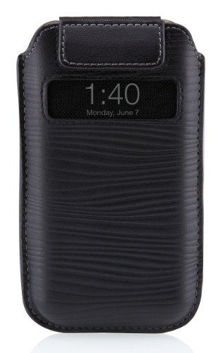 Belkin F8Z633cw Housse en cuir pour iPhone 4G Noir