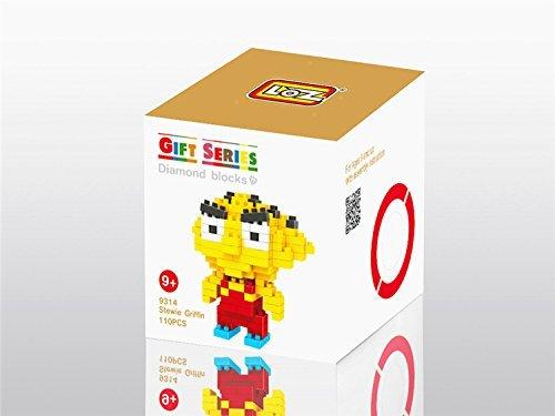 LOZ Diamond Blocks Nanoblock Stewie Griffin Educational Toy 110PCS (Toy Griffin Stewie)