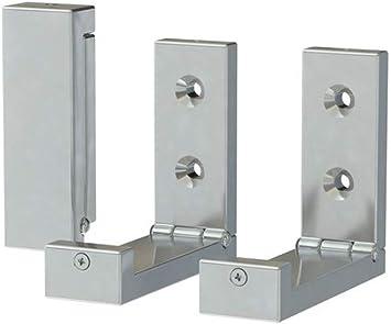 Amazon.com: IKEA Bjärnum gancho plegable (, aluminio: Home ...