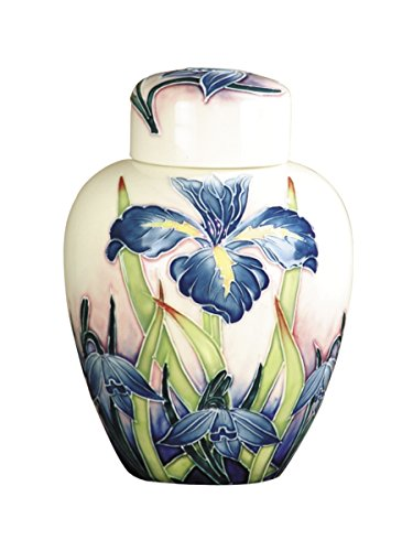 Painted Porcelain Jug with Lid ()