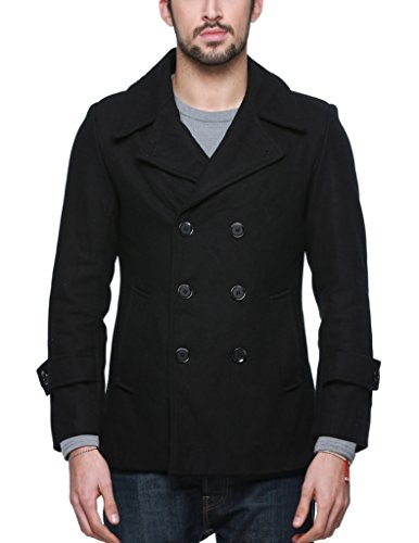 Men's IZOD Wool-Blend Peacoat and Scarf Set. Regular. Look your best with Men's Peacoats from Kohl's. Peacoats for Men are perfect for your everyday look. Kohl's offers many different styles and types of men's jackets, like big & tall peacoats, men's black peacoats.