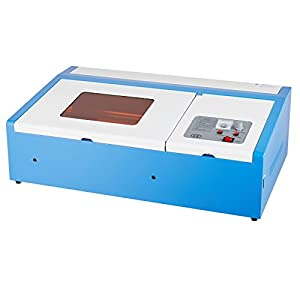 Orion Motor Tech 12x 8 40W CO2 Laser Engraving Machine Engraver Cutter with Exhaust Fan USB Port