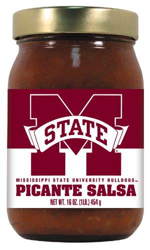 (12 Pack MISSISSIPPI STATE Bulldogs Picante Salsa Medium )