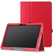 Moko Samsung Galaxy Note PRO & Tab PRO 12.2 Case - Slim Folding Cover Case for Galaxy NotePRO & TabPRO 12.2 Android Tablet, RED