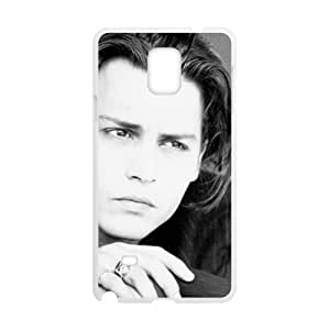 Happy johnny depp drawing Phone Case for Samsung Galaxy Note4