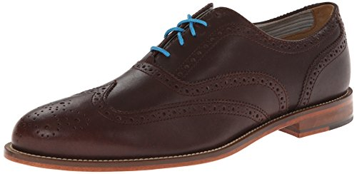 J Shoes Men's Charlie Oxford - Dark Brown - 8.5 D(M) US